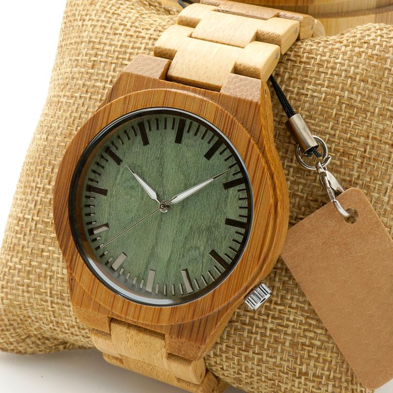 Men's Wooden Watch with Wooden Band – Ghost Eyes