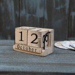 Wooden Calendar - Vintage